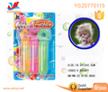 New toys for kids blow bubble toy 30Ml bubble liquid with stick 7 color bubble kit
