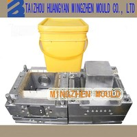 china huangyan plastic square paint bucket mold manufacturer