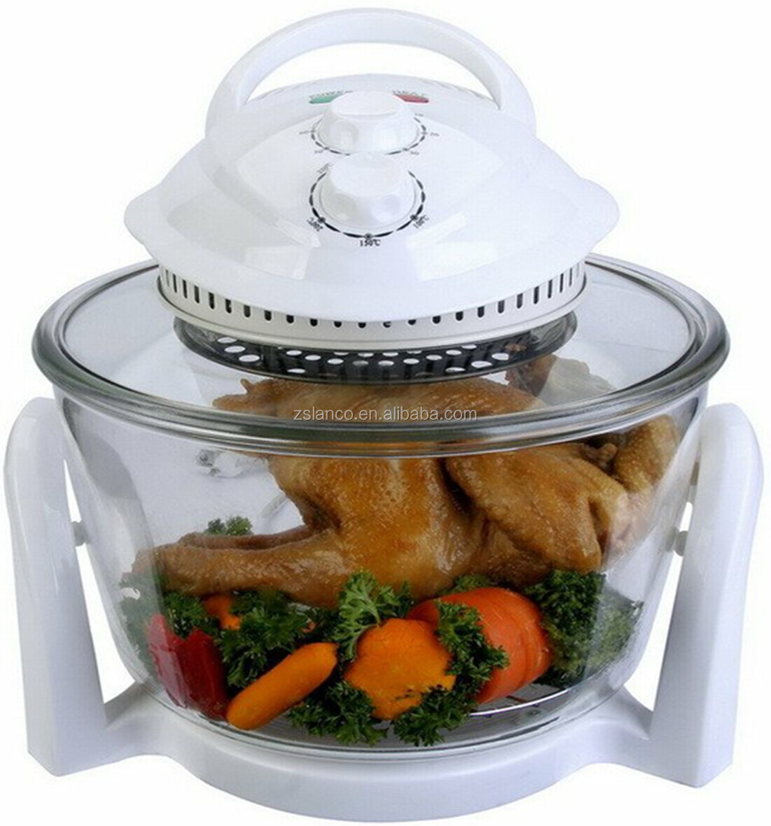 7L Glass Halogen Oven NK-O0701 with CE GS RoHS EMC