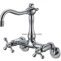 Commercial Wall Mounted Bathroom Basin Tap
