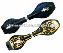 New 2 Wheel Snake Board BatBoard WaveBoard Vigorboard Swing Board DriftBoard Surfing Skateboard