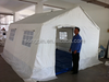 hot sale disaster canopy tent with window,large emergancy relief tent