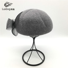 custom wool felt girls production beret hat manufacture