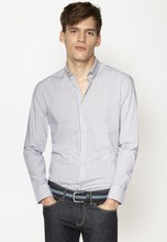 White casual new patterns tailored shirts