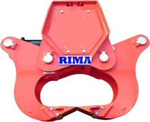 The best-kown brand RIMA automatic wood splitter and log cutter machine
