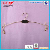 wholesale metal wire underwear hanger with clips