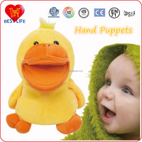 Plush Animal Hand Puppet duck puppet hand puppet toys (PTAL01150208)
