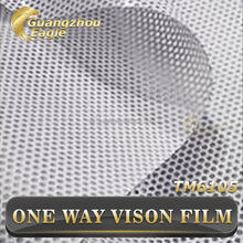 High Quality Window Covering One Way Vision Perforated Window Self Adhesive Vinyl Film