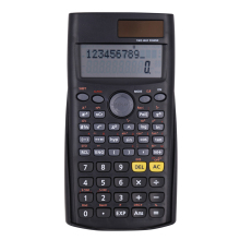 2-line display function table scientific calculator with slide cover
