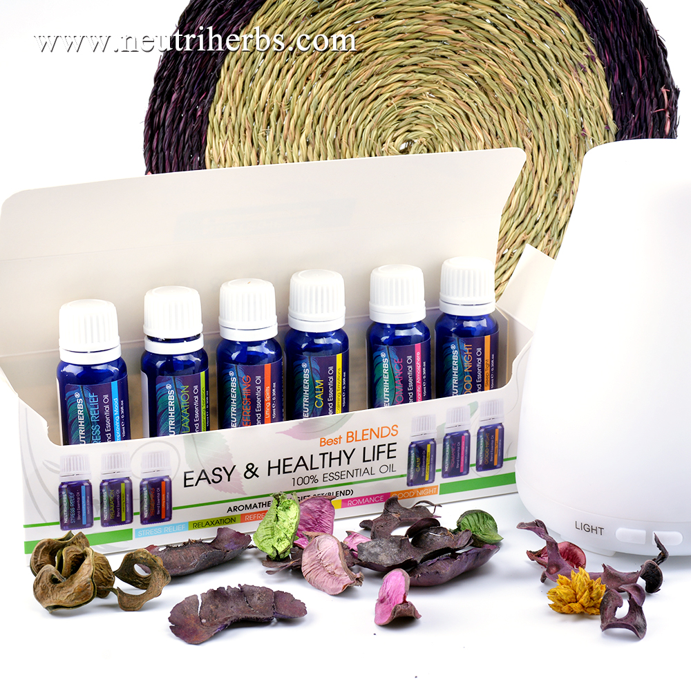 Best Wholesale Purely Home Fragrance Essential Oil Gift Set Natural Essential Oil