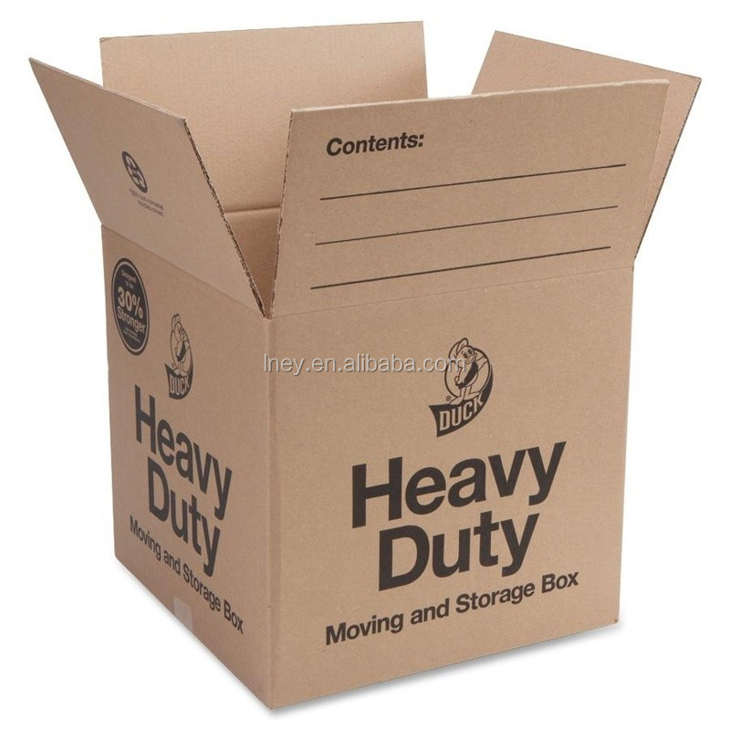 Durable and foldable Heavy Duty Cardboard Shipping Box