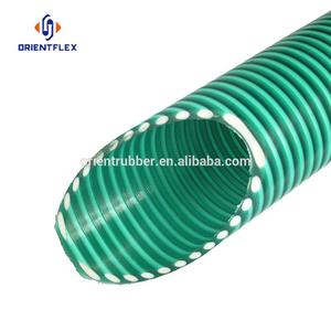 As seen on tv bending no smelling wastewater large plastic pvc winding suction drainage pipe factory
