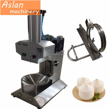 fresh coconut trimming machine for diamond shape / young fresh coconut skin peeling peeler machine