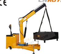 Small hydraulic lift pick up crane / electric engine mini crane