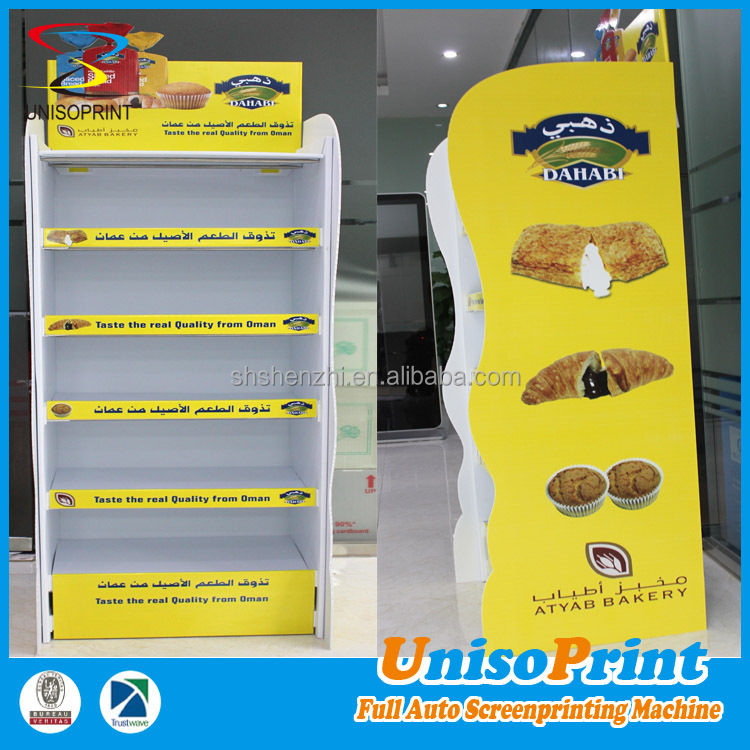 2017 hot sale China supplier produce merchandise plastic food display rack