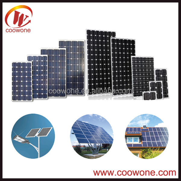 Excellent 250W Mono crystalline solar panel for industrial use