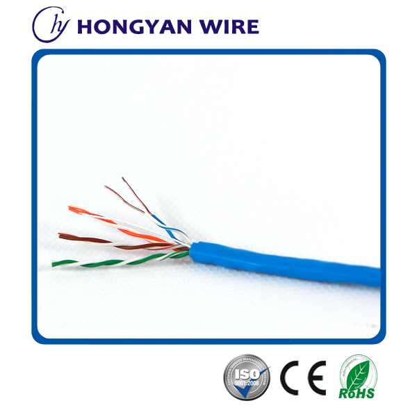 China supplier cu/cca/ccc/ccag fluke test 24 awg 4 pair utp cat5e d-link lan cable