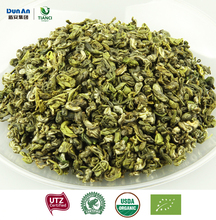 china famous organic green tea leaves certified by CERES