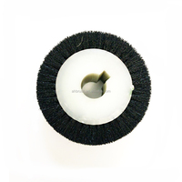 textile brush roll and Spinning machine nylon abrasive round cleaning brush