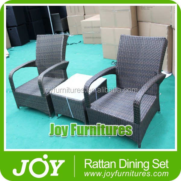 High Back Rattan Chair and Tea Table Joy Furnitures
