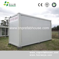 widely used two storeys combined economic prefab shipping container house