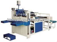 gluing machine|semi-automatic folder gluer machine for corrugated paperboard/carton box manufacturing machine