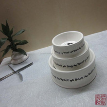 factory wholesale ceramic dog bowls pet bowls
