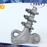 NLL series aluminum alloy strain clamp and insulation cover bolted type of electric fittings