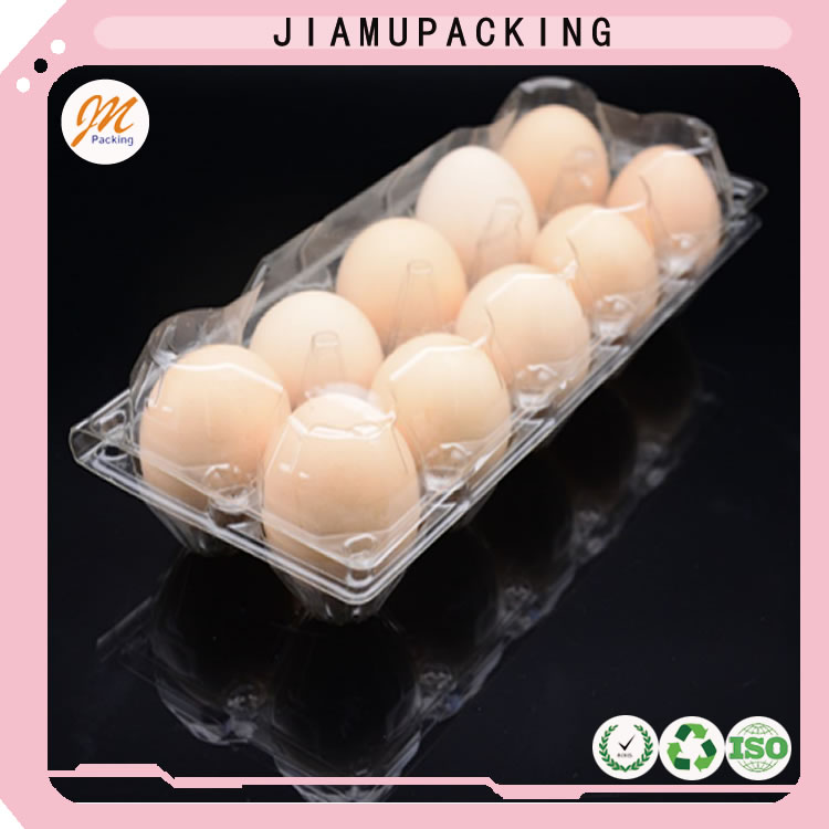 2016 new design wholesale plastic egg tray with 12holes/cavities