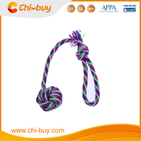 Durable Non-toxic Multi-Color Cotton Fist Knot Rope Pet Dog Toy
