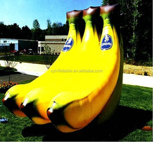 advertising giant banane inflatable fruits inflatable vegetables