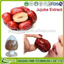 100% natural , medicine and food grade fructus jujubae extract / red dates powder