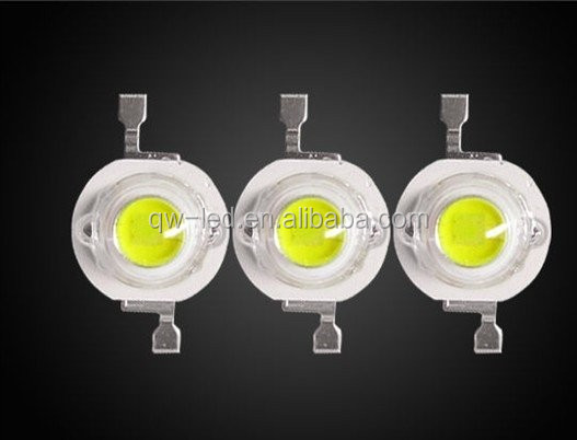 1W 3W High Power Epileds Led Chip Wide Angle High Power 140 degree Star LED