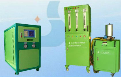 Thermal spray coating processing machine,