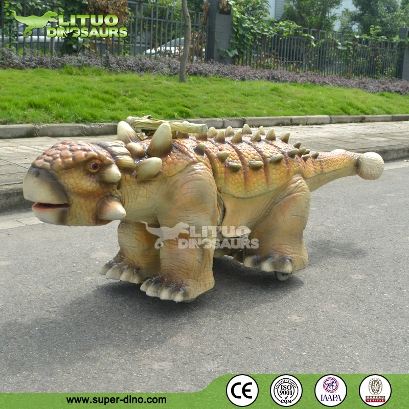 Walking Dinosaur Rides with Battery and Music