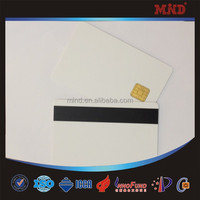 MDJ004 dual interface JCOP JAVA card with HICO magnetic