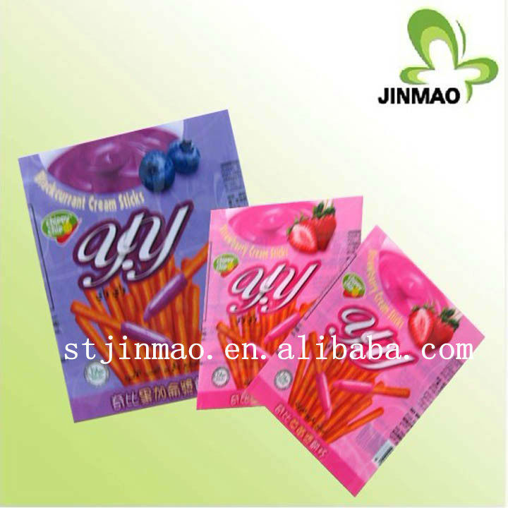 PVC packing sachets film in roll