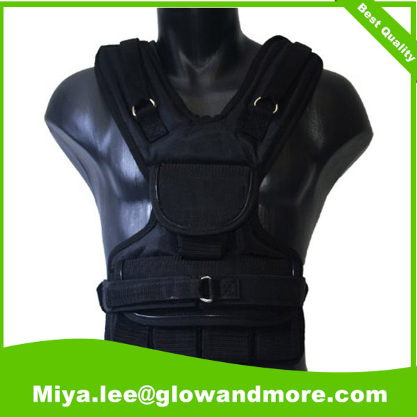 Professional factory customize high quality weight vest crossfit