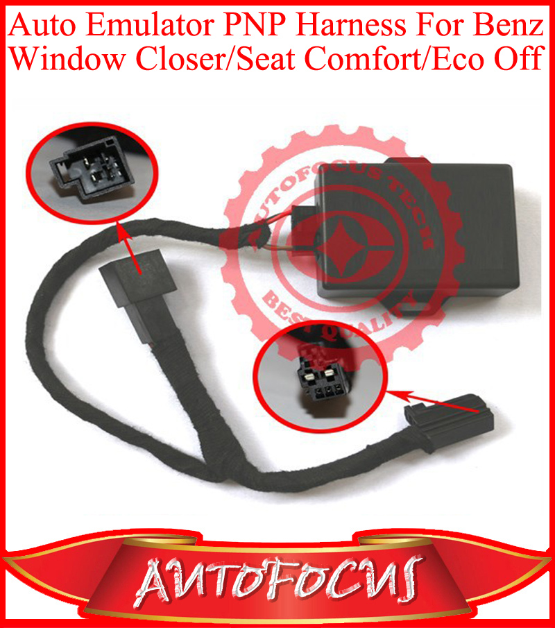 Plug And Play PNP Harness Auto Emulator For Window Closer/Seat Comfort/STT Stop&Start Eco Function Off For A/B/C/E/CLA/GLK/ML/GL