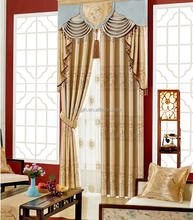 2017 Newest Design Abstract Luxury Readymade Curtains For Living Room