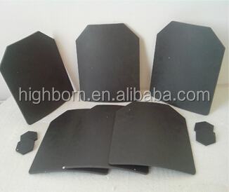 Bulletproof Products NIJ 3~4 made by Composite SIC Silicon Carbide Plate
