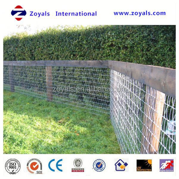 Professional ISO Manufacturer galvanised fencing panel suitable for cattle or horses in guangzhou