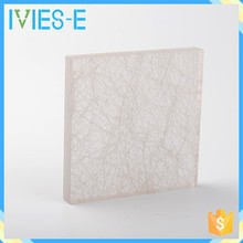 White combined fibers flexural ability durable decorative ceiling