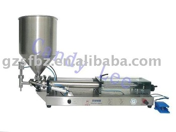 Piston jam filling machine