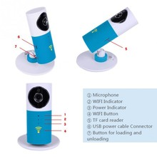 Mini Wifi Baby Monitor Wireless Camera Infant Baby Clever Dog camera Home Security Video Night Vision CE ROH FCC p2p wifi ip cam