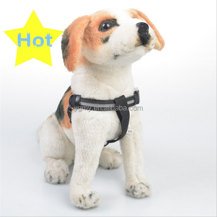 Dog Led Flashing Light Harness Collar Pet Safety Led Leash Rope Belt