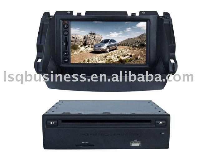 Special Renault Koleos car DVD with GPS, bluetooth, RDS, steer wheel control and other functions