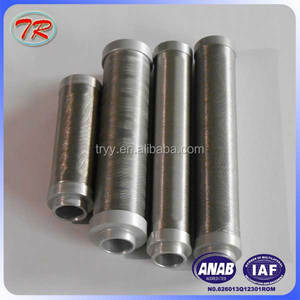 Factory stainless steel notch wire filter/stainless steel oil filter element
