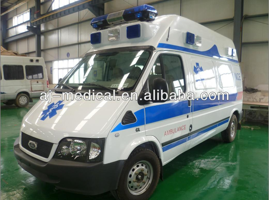 FORD Intensive Care High Roof LHD Ambulance/CQK5030XJH4 FORD Transit High Roof Left Hand Drive Ambulance