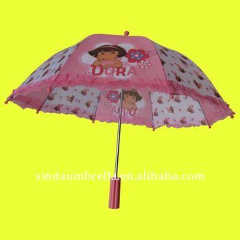 Xd k105 new design children umbrella with plastic straight for Xd garden design